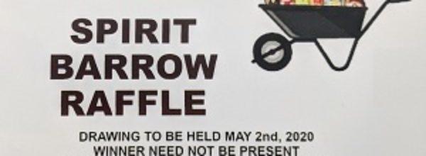 1st Annual Spirit Barrow Raffle